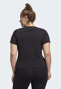 adidas Performance - UNIVERSE T-SHIRT - T-shirts print - black - 3
