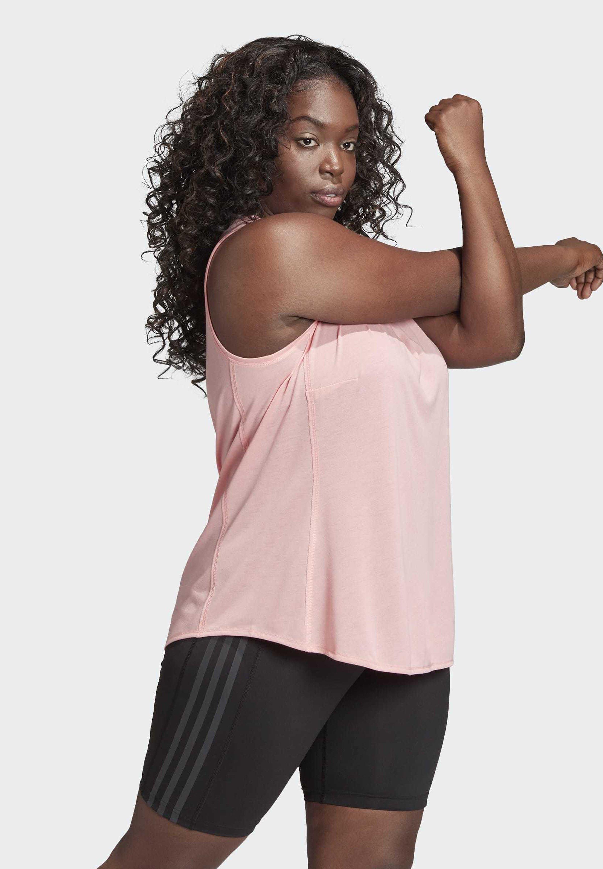 adidas Performance ADAPT TO CHAOS TANK TOP - Koszulka sportowa - pink