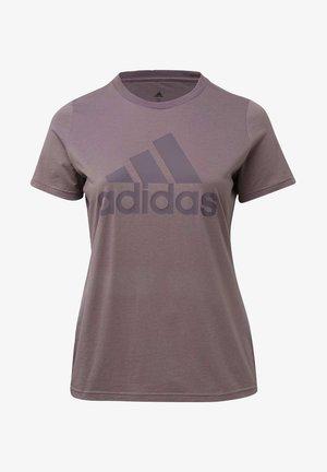BADGE OF SPORT T-SHIRT - T-Shirt print - purple