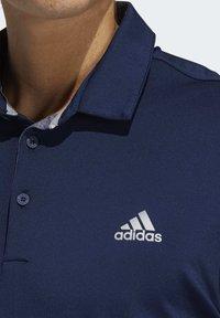 adidas Golf - ULTIMATE365 2.0 SOLID POLO SHIRT - Sports shirt - blue - 4