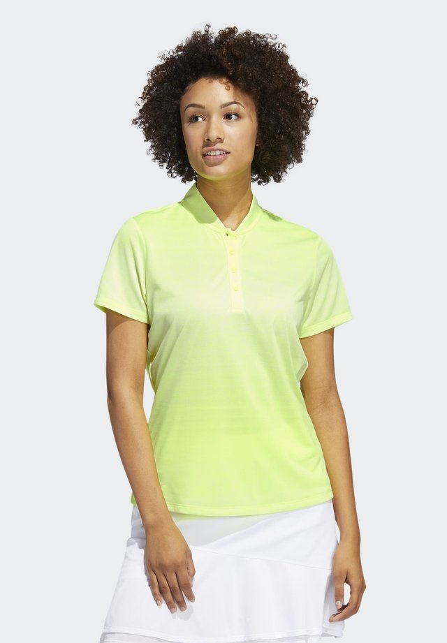 GRADIENT POLO SHIRT - Koszulka polo - yellow