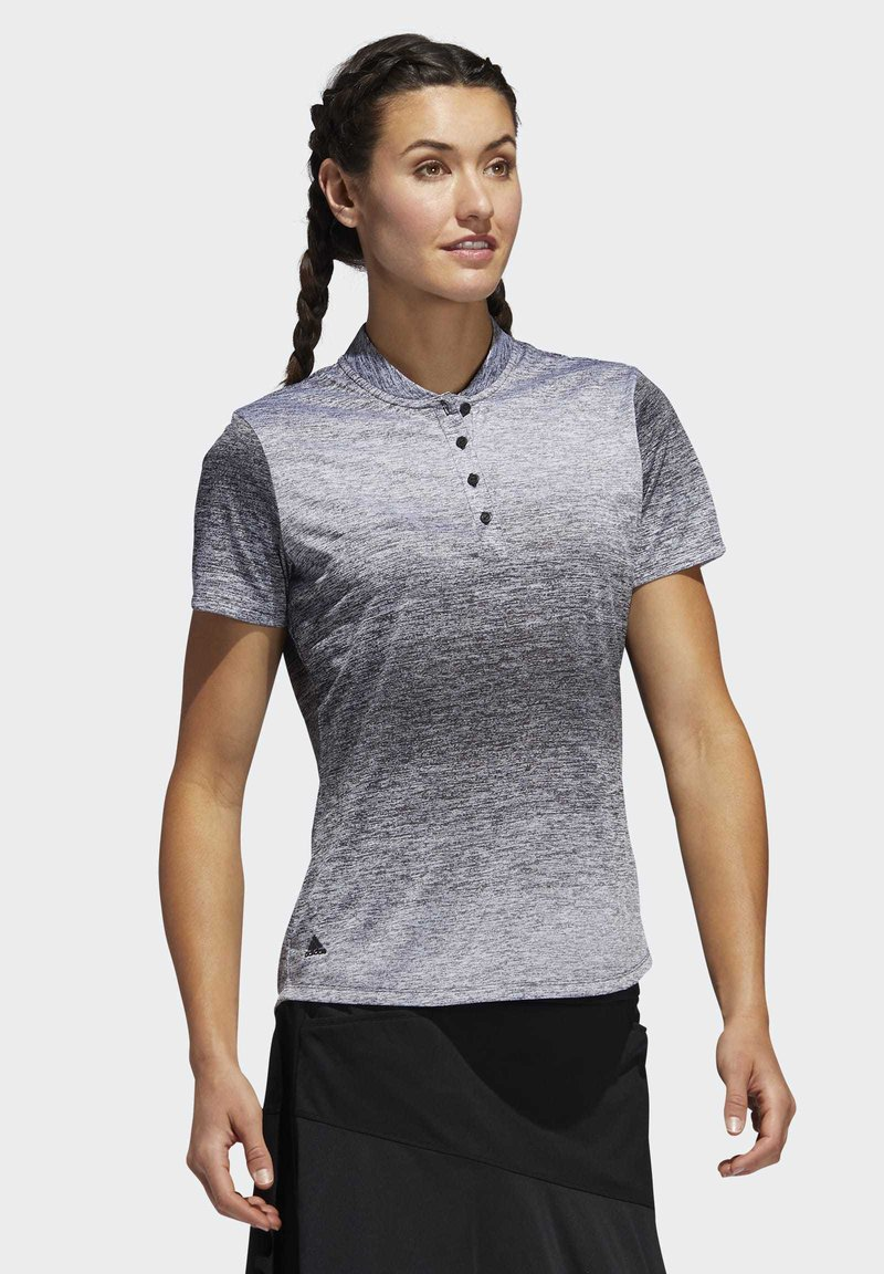 adidas Golf - GRADIENT POLO SHIRT - T-shirts med print - white