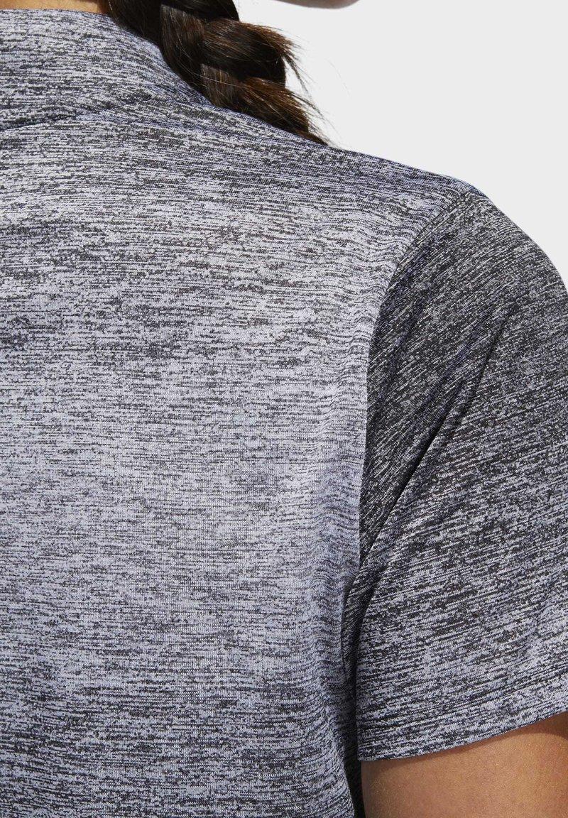 adidas Golf GRADIENT POLO SHIRT - T-shirts med print - white