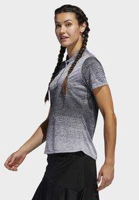 adidas Golf - GRADIENT POLO SHIRT - T-shirts med print - white - 2