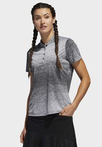 adidas Golf - GRADIENT POLO SHIRT - T-shirts med print - white - 3