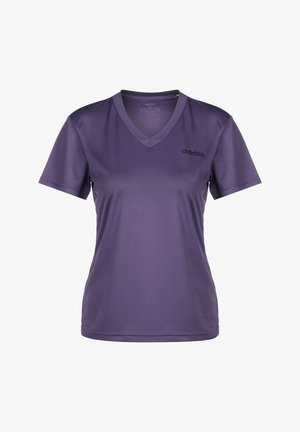 D2M SOLID T-SHIRT - Basic T-shirt - tech purple / black