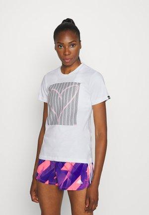 HEART - T-shirt print - white