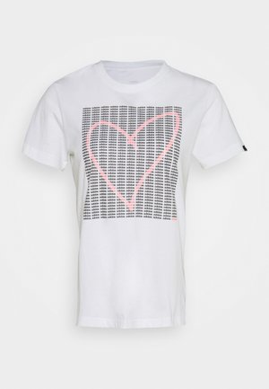 HEART - T-shirts med print - white
