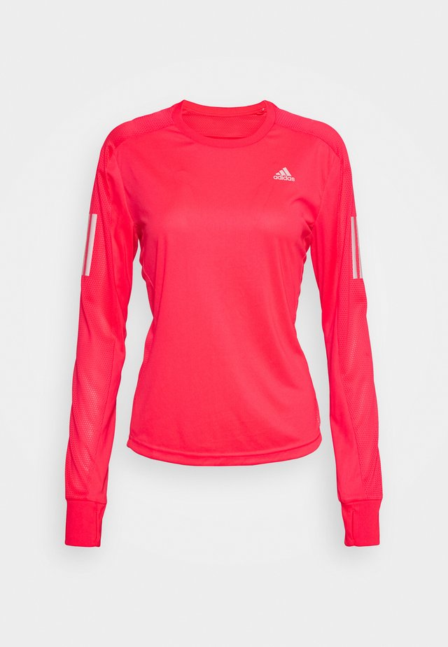 SPORTS RUNNING LONG SLEEVE - Topper langermet - signal pink