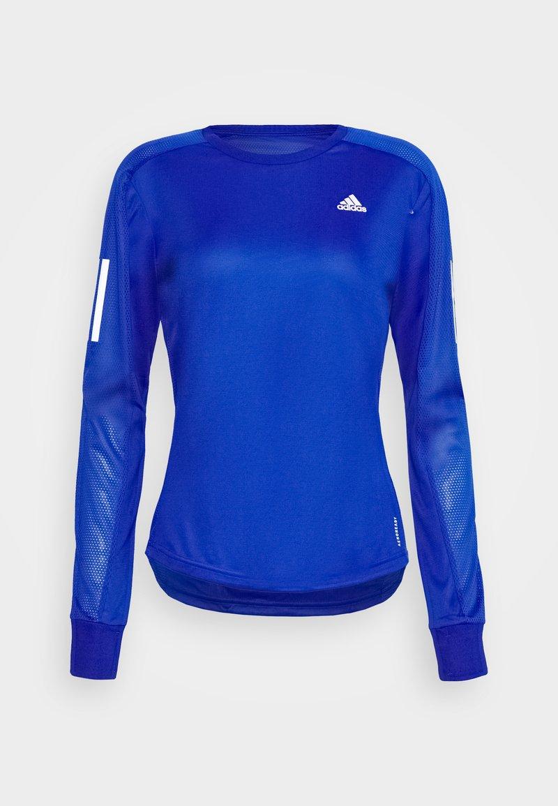 adidas Performance - SPORTS RUNNING LONG SLEEVE - Long sleeved top - royal blue