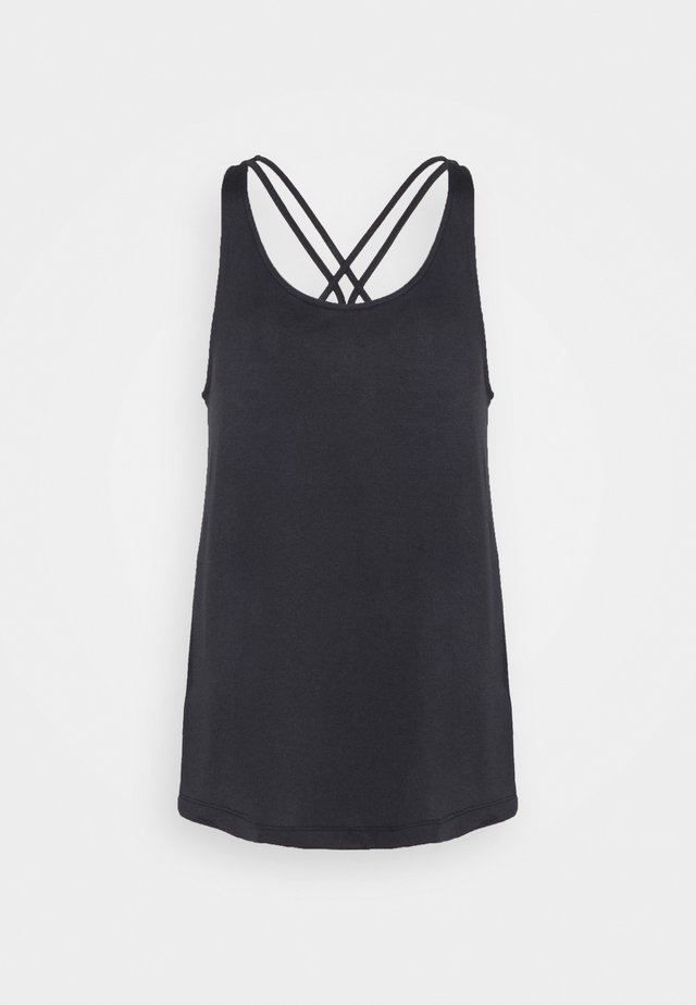 TUNIC TANK - Funktionsshirt - black/white