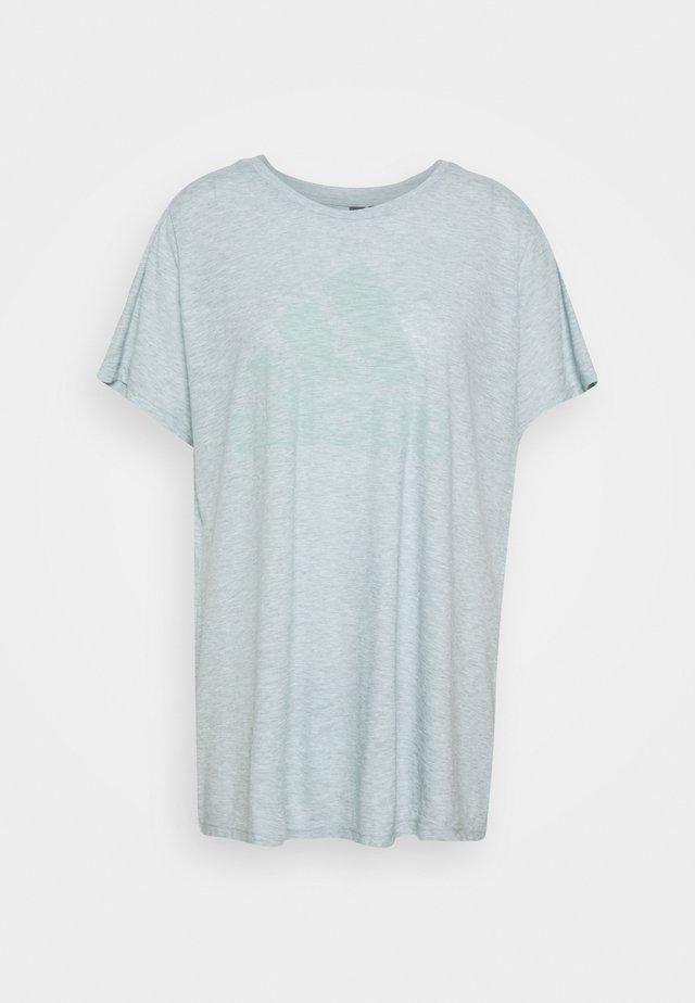 WIN TEE - T-shirt z nadrukiem - mint