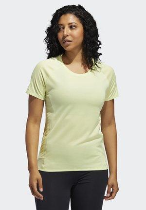 25/7 RISE UP N RUN PARLEY T-SHIRT - Print T-shirt - yellow