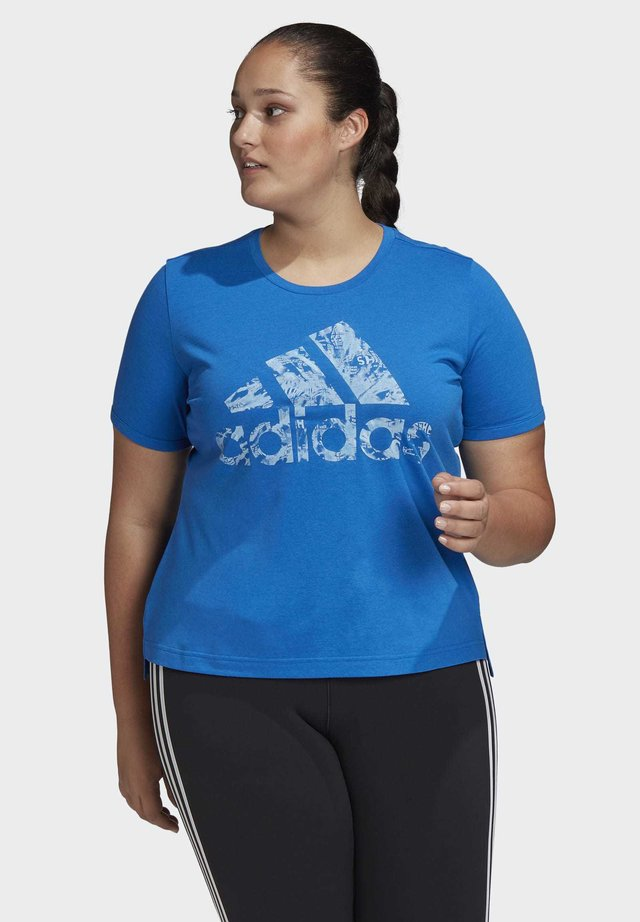 IWD UNIV T-SHIRT - T-shirts print - blue