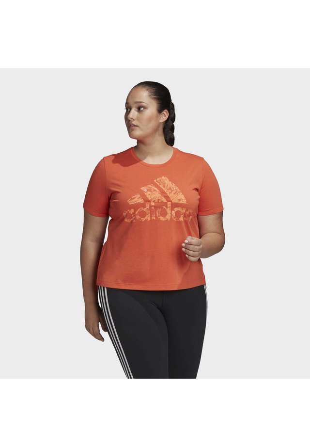 IWD UNIV T-SHIRT - T-shirts print - orange