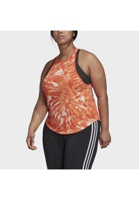 adidas Performance - UNIV TANK TOP - Toppe - orange - 4