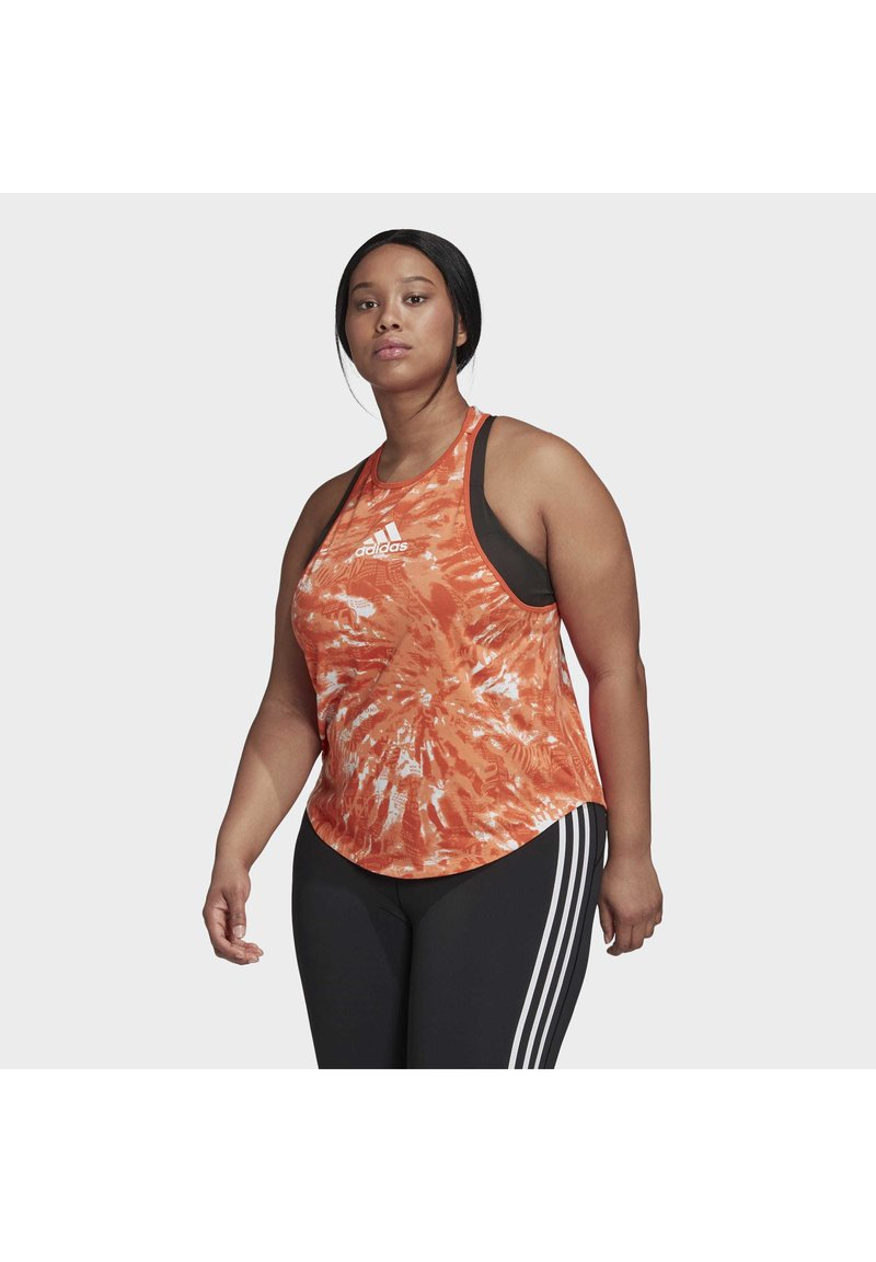 adidas Performance - UNIV TANK TOP - Toppe - orange