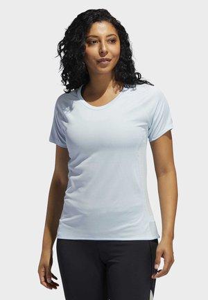 25/7 RISE UP N RUN PARLEY T-SHIRT - T-shirt z nadrukiem - blue
