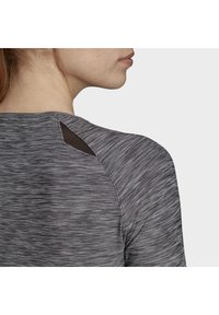 adidas Performance - HI LO JERSEY - Long sleeved top - black - 8