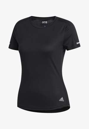 RUN IT T-SHIRT - T-shirt basic - black
