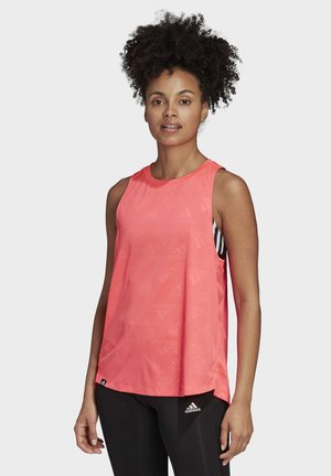OWN THE RUN TANK TOP - Top - pink