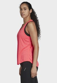 adidas Performance - OWN THE RUN 3-STRIPES PB TANK TOP - Top - pink - 3