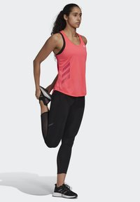 adidas Performance - OWN THE RUN 3-STRIPES PB TANK TOP - Topper - pink - 1