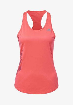 OWN THE RUN 3-STRIPES PB TANK TOP - Top - pink