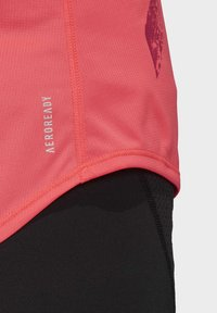 adidas Performance - OWN THE RUN 3-STRIPES PB TANK TOP - Top - pink - 6