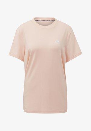 MUST HAVES 3-STRIPES T-SHIRT - T-shirt z nadrukiem - pink