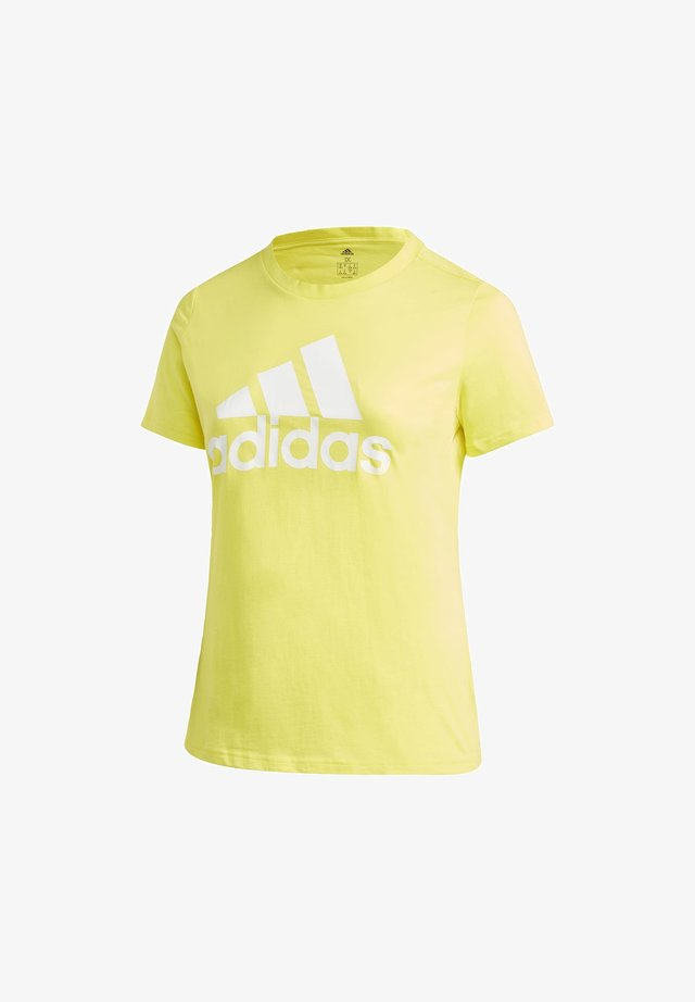 MUST HAVES BADGE OF SPORT T-SHIRT (PLUS SIZE) - T-shirts print - yellow