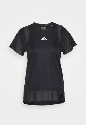 TEE H.RDY - T-shirts med print - black