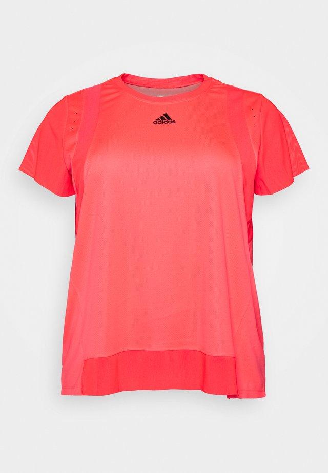 TEE  - T-shirt basic - signal pink