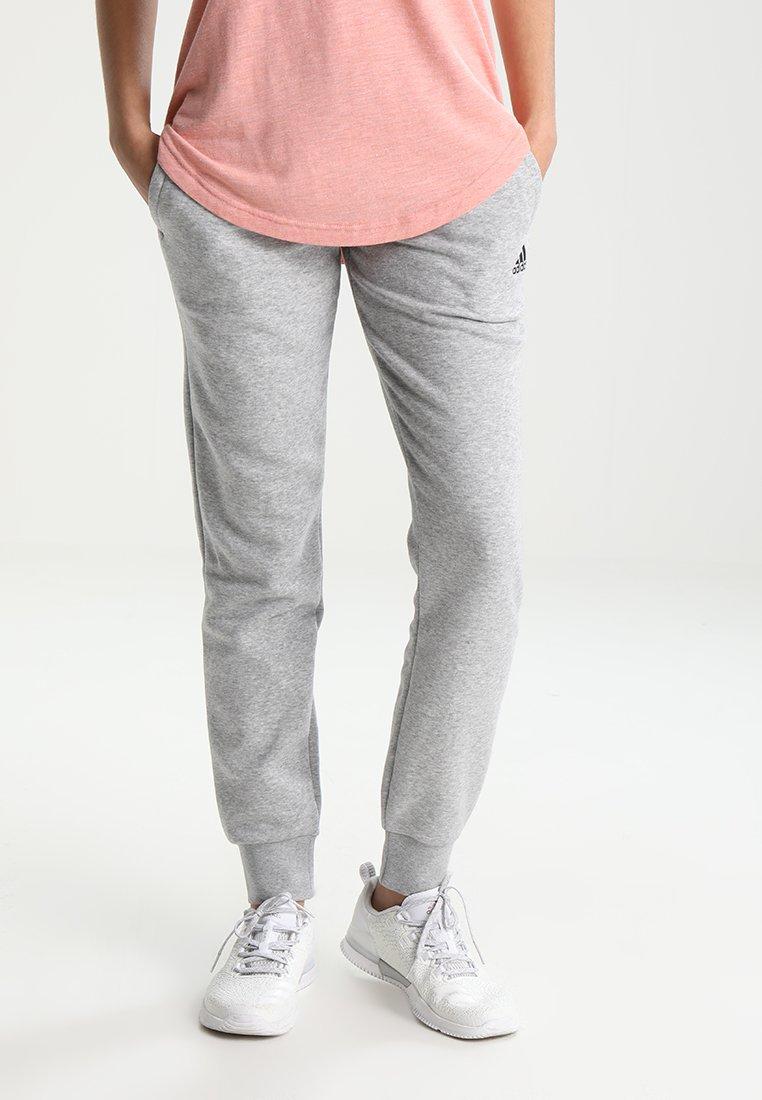 adidas Performance - SOLID PANT - Pantalon de survêtement - gris clair