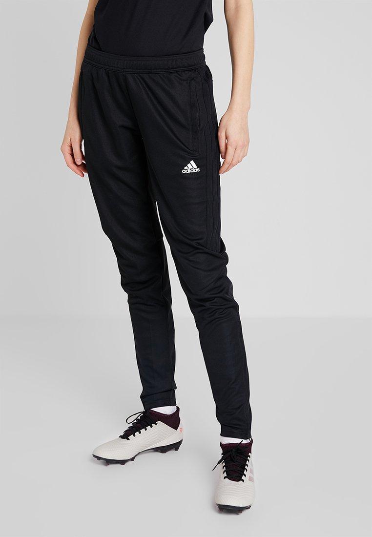 adidas Performance - TIRO - Pantalones deportivos - black/white