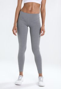 adidas Performance - Legging - black/grey three - 0
