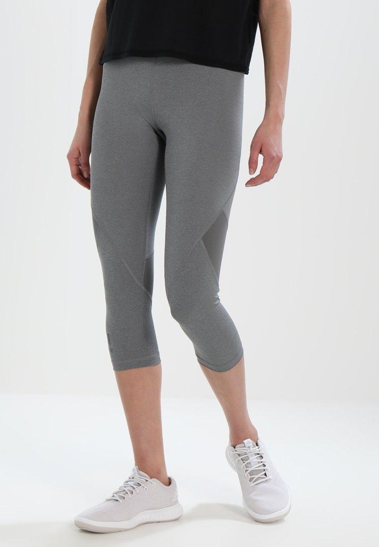 adidas Performance - Legging - dark grey heather