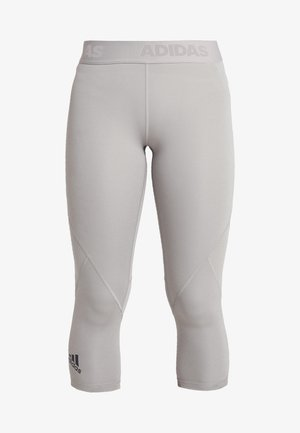3/4 sports trousers - solid grey