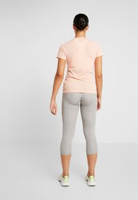 adidas Performance - 3/4 sports trousers - solid grey - 2