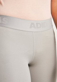 adidas Performance - 3/4 sports trousers - solid grey - 5