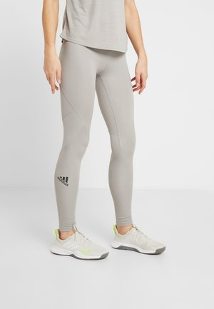 ASK  - Tights - solid grey