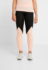 adidas Performance - ASK  - Leggings - black/glow pink - 0