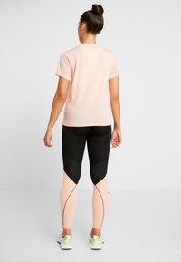 adidas Performance - ASK  - Leggings - black/glow pink - 2