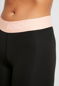 adidas Performance - ASK  - Leggings - black/glow pink - 5