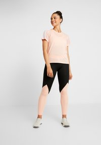 adidas Performance - ASK  - Leggings - black/glow pink - 1