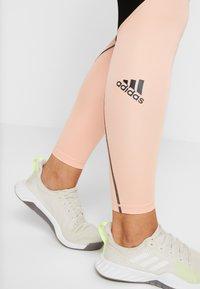 adidas Performance - ASK  - Leggings - black/glow pink - 3