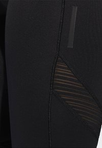 adidas Performance - HOW WE DO 3/4-TIGHTS - 3/4 sports trousers - black - 3