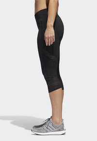 adidas Performance - HOW WE DO 3/4-TIGHTS - 3/4 sports trousers - black - 2