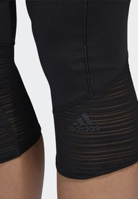 adidas Performance - HOW WE DO 3/4-TIGHTS - 3/4 sports trousers - black - 5
