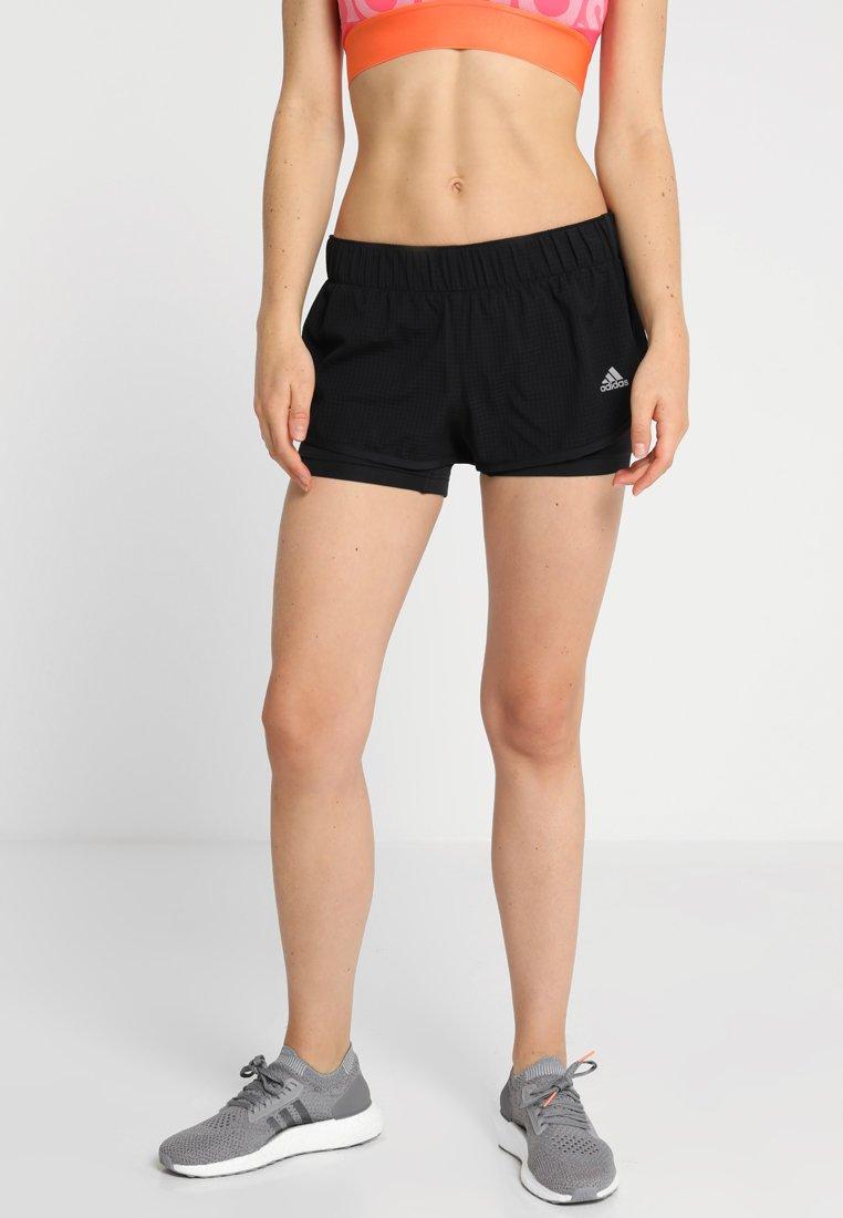 adidas Performance - SHORT - kurze Sporthose - black